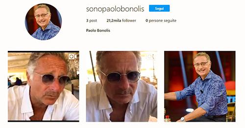 Paolo Bonolis cede al fascino del web: eccolo su Instagram e in vacanza a Formentera con la moglie Sonia