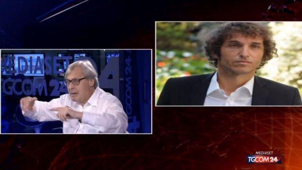 """Gossip News, Vittorio Sgarbi smentisce la notte di passione con Malena: """"Una provocazione per Cruciani!"""""""