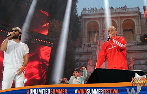 """Wind Summer Festival 2017: trionfano Fabri Fibra e TheGiornalisti con """"Pamplona"""", info e ascolti TV"""