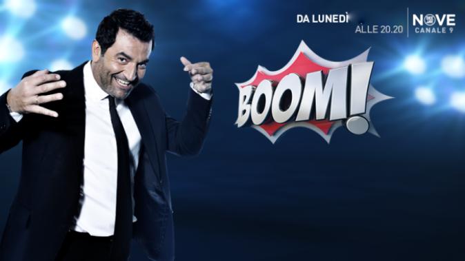 Boom, anticipazioni 28 agosto: la nuova stagione con Max Giusti, torna oggi su Nove