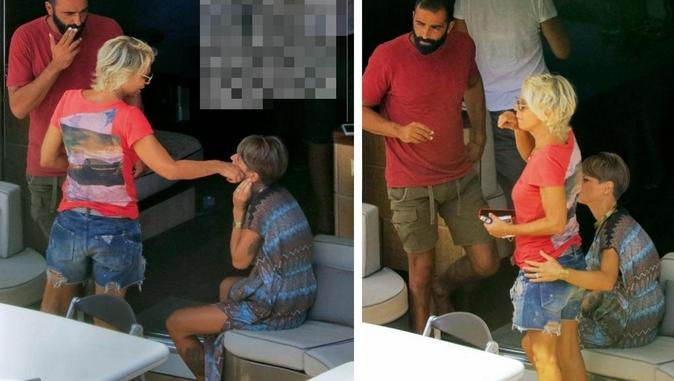 Maria De Filippi, in barca con Alessandra Amoroso ed Emma Marrone: relax e risate