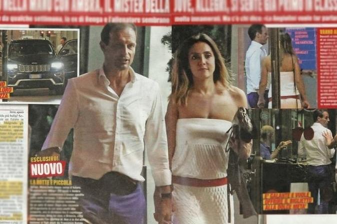 Ambra Angiolini e Massimiliano Allegri: le ultime notizie di gossip sulla coppia