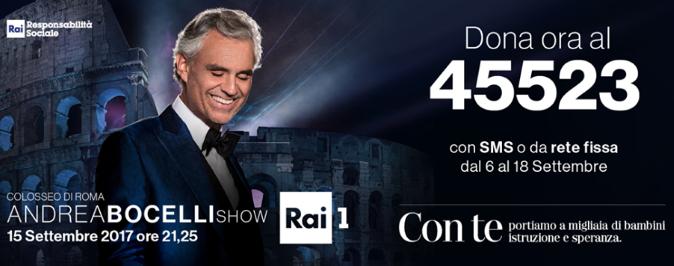 Colosseo di Roma, Andrea Bocelli Show: stasera su RaiUno dopo la brutta caduta da cavallo, le parole del tenore