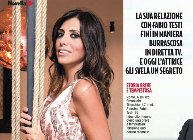 """Gossip news, Emanuela Tittocchia choc: """"Aspettavo un figlio da Fabio Testi, ma…"""""""