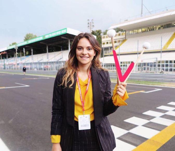 Francesca Michielin e l'Inno di Mameli al GP d'Italia 2017 di Formula 1 – VIDEO
