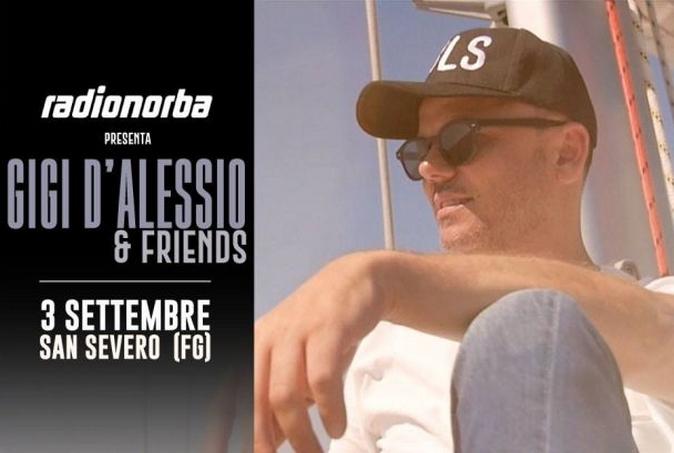 Gigi D'Alessio & Friends, il concerto su Radionorba, oggi 3 settembre: tutti gli ospiti