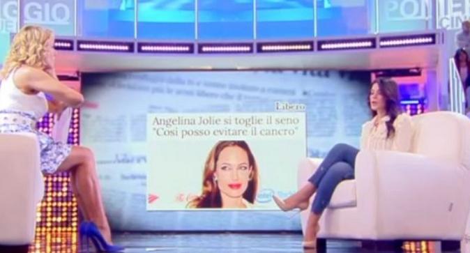Pomeriggio 5, Mary Falconieri: il racconto shock, mastectomia totale bilaterale come la Jolie, ecco perché