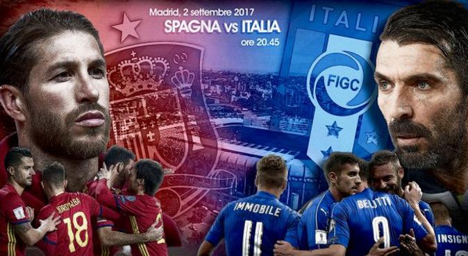 Calcio in Tv, qualificazioni Mondiali 2018: Spagna-Italia, stasera 2 settembre, orario diretta tv e info streaming