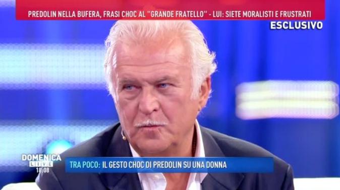"""Marco Predolin contro tutti, Domenica Live: """"Crocifiggetemi!"""", Barbara d'Urso non ci sta [VIDEO]"""