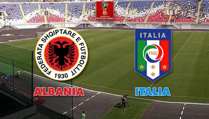 Calcio in Tv, qualificazioni Mondiali 2018: Albania-Italia stasera 9 ottobre, orario diretta tv e info streaming
