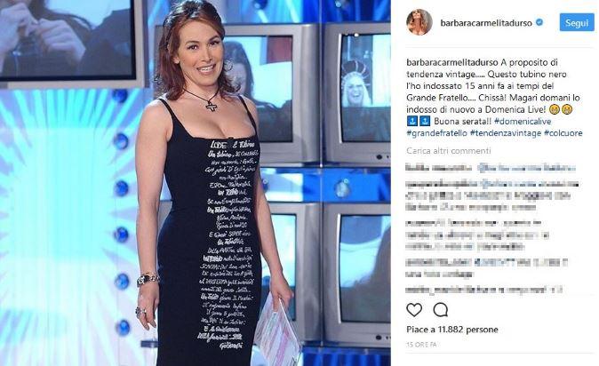 Domenica Live, anticipazioni 8 ottobre: i look di Barbara d'Urso, dieta Lemme e Grande Fratello Vip, info streaming