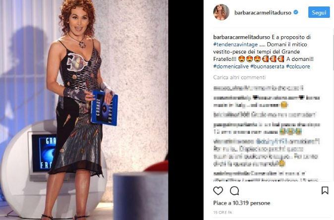 Domenica Live, puntata 15 ottobre: il look di Barbara d'Urso, Carolyn Smith ospite, scontro tra Giulia Latini e Soleil Sorge?