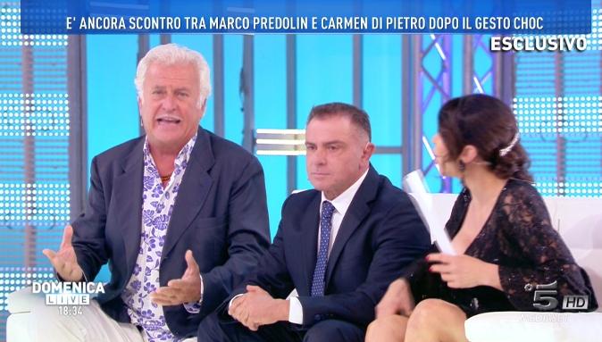 GF Vip, Carmen Di Pietro a Domenica Live: le scottanti foto del tradimento del marito [VIDEO]