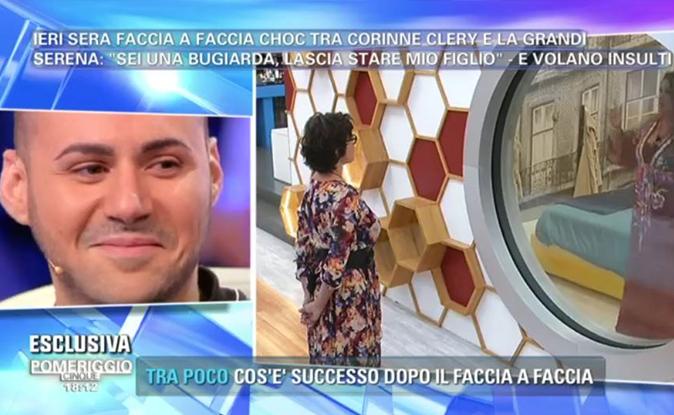 Pomeriggio 5, la lite tra Corinne Clery e Serena Grandi: parla Edoardo Ercole 'Diritto di replica' [VIDEO]
