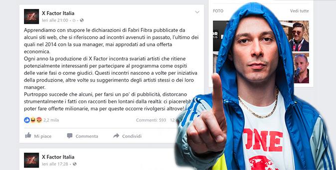 Fabri Fibra e X Factor: 'Mi hanno offerto un milione di euro…', la replica del talent 'cerca pubblicità!'