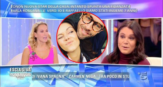 Raffaello Tonon è fidanzato, GF Vip: Rossana Feola dalla d'Urso 'appena esce tornano insieme' [VIDEO]