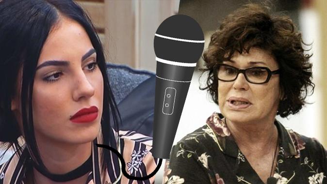 """GF Vip 2017, Giulia De Lellis e la bordata a Corinne Clery: """"Le ficcherei un microfono in bocca…"""""""