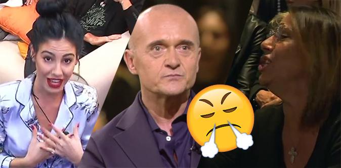 """GF Vip 2017, Alfonso Signorini litiga con Giulia: """"De Lellis Show"""" con la mamma di lei [VIDEO]"""