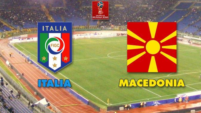 Calcio in Tv, qualificazioni Mondiali 2018: Italia-Macedonia stasera 6 ottobre, orario diretta tv e info streaming