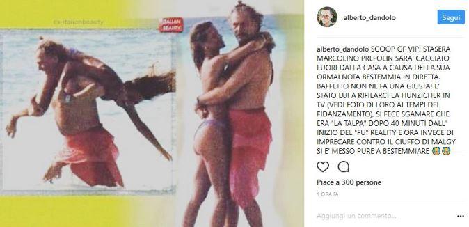 Grande Fratello Vip 2017, anticipazioni: Marco Predolin squalificato! Lo scoop di Dandolo