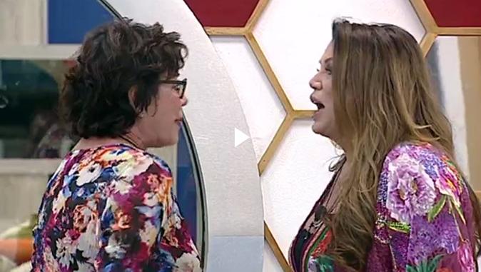 GF Vip 2017, Corinne Clery e Serena Grandi: scontro tra (ex) dive 'Stronz*, poveraccia e baule!' [VIDEO]