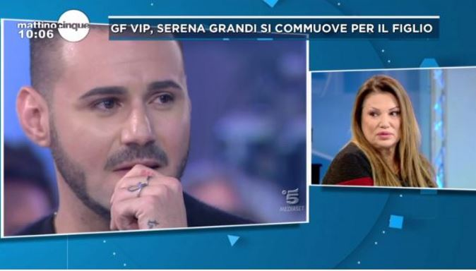 """Grande Fratello Vip 2017, news: Serena Grandi confessa, """"mi manca la Casa"""", e parla del rapporto con il figlio"""