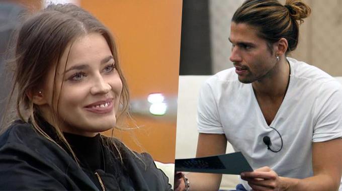 Luca e Ivana, GF Vip 2: le insinuazioni di Lorenzo sul bacio dietro la tenda, le reazioni della modella