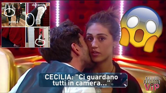 Cecilia e Ignazio, Confessionale hot al GF Vip 2017: rapporto intimo dietro le tende [VIDEO]