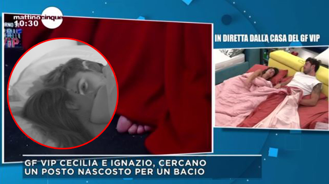 """GF Vip 2, Cecilia confessa perchè ha lasciato Monte e su Ignazio: """"Mi fa stare bene!"""" [VIDEO]"""