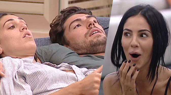 Cecilia e Ignazio, GF Vip 2: coccole in sauna, le confessioni bollenti di Giulia De Lellis (Video)