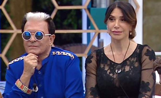 Cristiano Malgioglio e Carmen Di Pietro, GF Vip