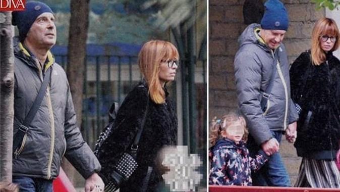 Gossip news, Fabrizio Frizzi a spasso con la moglie Carlotta e la figlia Stella – FOTO
