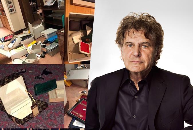 Fausto Leali, ladri in casa
