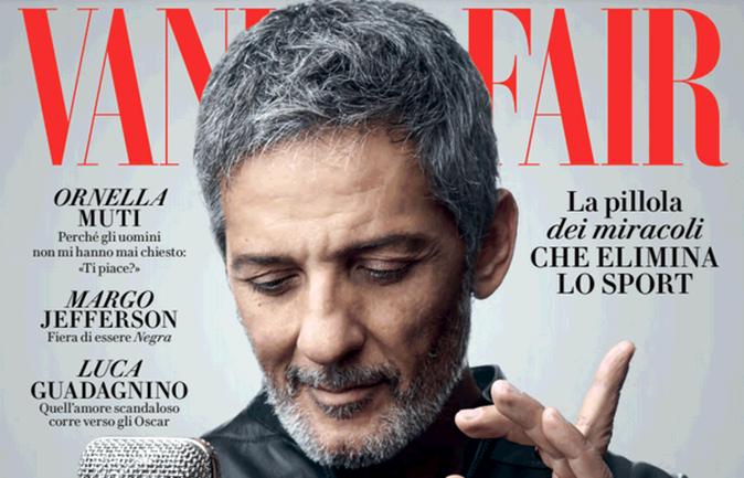 Fiorello, copertina Vanity Fair