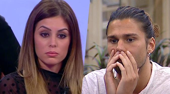 GF Vip 2, Giulia Latini svela lo scambio di messaggi con Luca Onestini: ha mandato lei l'aereo misterioso?