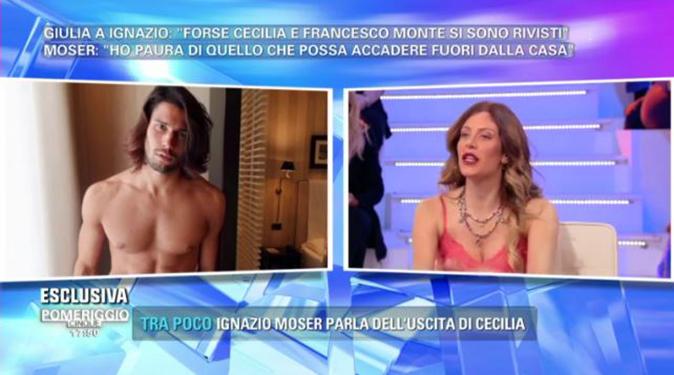 GF Vip 2, Paola Caruso pazza di Luca Onestini