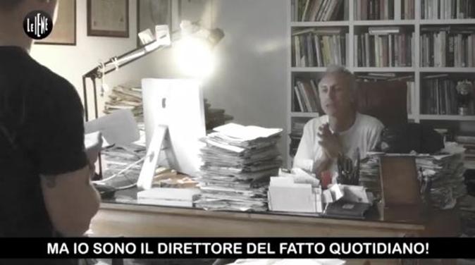 Marco Travaglio, lo scherzo de Le Iene: il figlio vuole andare al Grande Fratello Vip (Video)