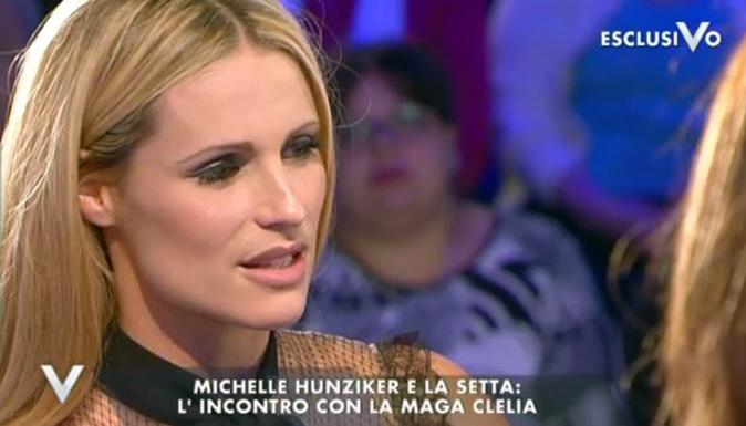 Michelle Hunziker a Verissimo, il racconto shock sulla setta e la verità sulla fine con Ramazzotti [VIDEO]