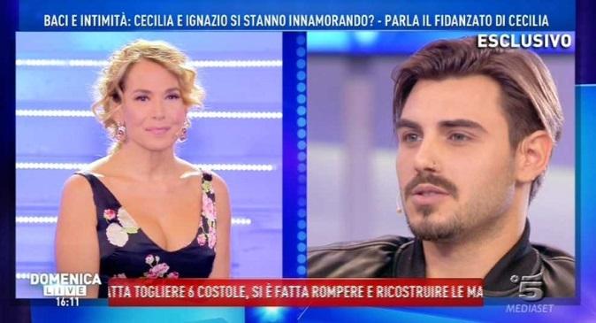 Pomeriggio 5, Barbara d'Urso: dopo Cecilia frecciatina a Ignazio Moser ed elogi a Francesco Monte