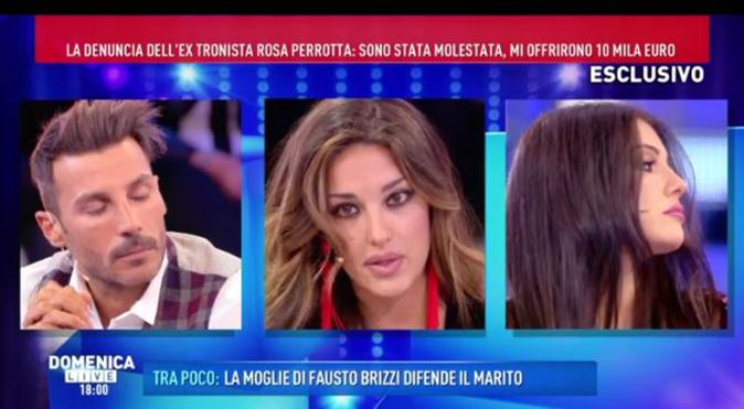 Rosa Perrotta e Clarissa Marchese a Domenica Live