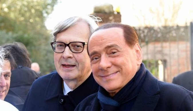 """Vittorio Sgarbi choc a La Confessione: """"Berlusconi mi pagava 13 milioni di lire al giorno"""""""