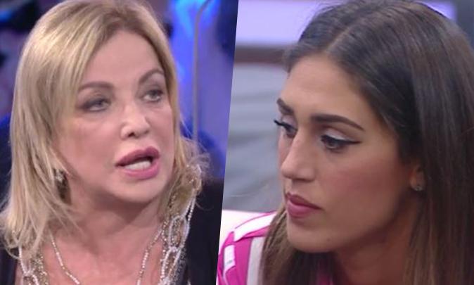 GF Vip 2, Simona Izzo umilia Cecilia Rodriguez: il boato del pubblico ed i fischi per la coppia [VIDEO]