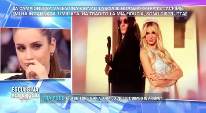 Valentina Vignali parla di Stefano Laudoni a Pomeriggio 5