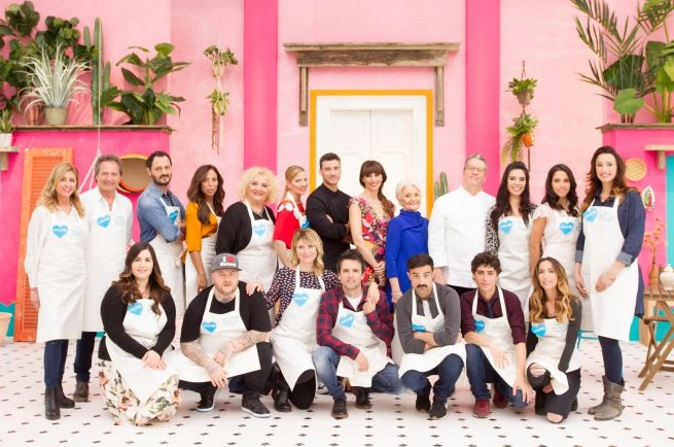 Bake Off Italia Celebrity Edition 2017: seconda puntata 15 dicembre, coppie in gara e info streaming