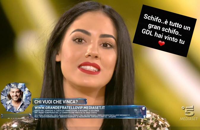 Giulia De Lellis, Grande Fratello Vip: Le Bimbe prendono male l'elimazione, chiuso il profilo ufficiale