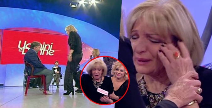Uomini e Donne Over, Graziella dà uno schiaffo a Manfredo e poi si sente male (Video)