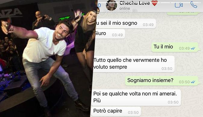 Cecilia e Ignazio, GF Vip 2: Moser pubblica i messaggi privati con la Rodriguez, convivenza in arrivo?
