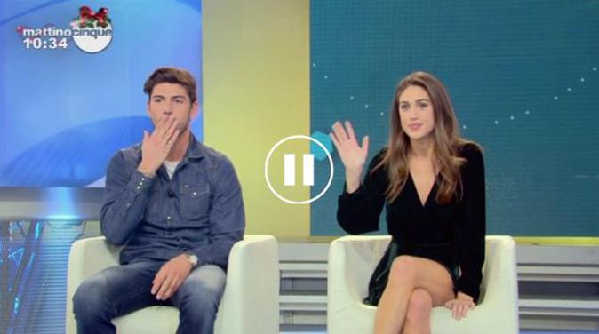 GF Vip 2, Cecilia e Ignazio a Mattino Cinque: lui confessa di essere innamorato della Rodriguez