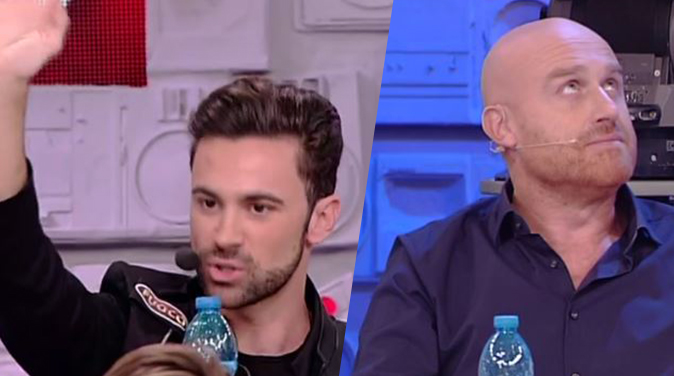 Amici 17, Luca Vismara contro Rudy Zerbi
