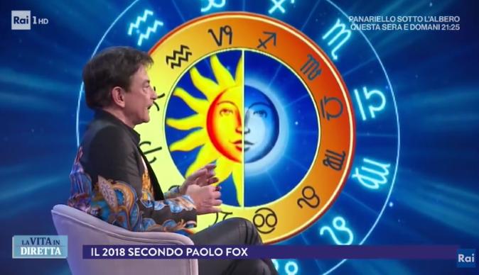 Oroscopo 2018 Paolo Fox, lo speciale in diretta tv: previsioni e dettagli grafici segno per segno, ecco quando